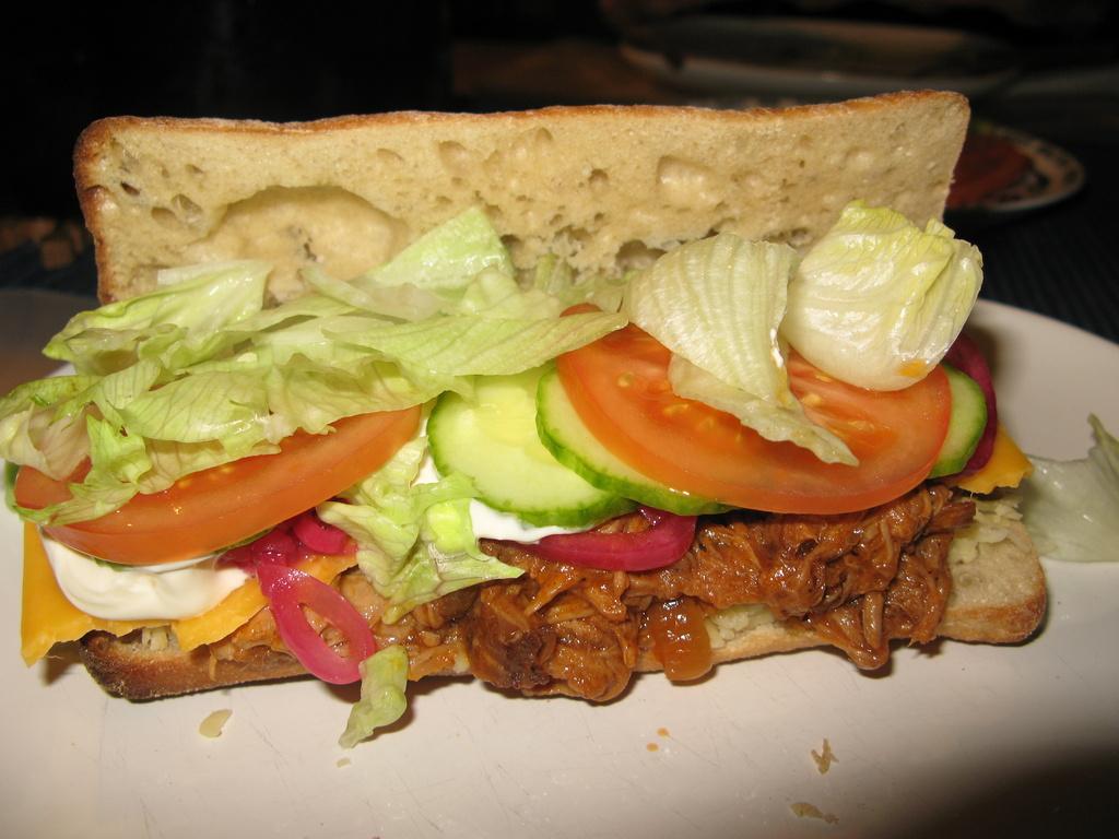 club sandwich sås